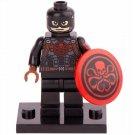 Minifigure Captain America Hydra Agent Suit Marvel Super Heroes Lego compatible Building Blocks Toys