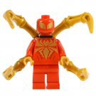 Minifigure Spider-Man with Bone Tentacles Marvel Super Heroes Lego compatible Building Blocks Toys