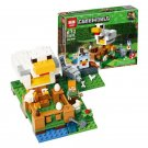 18035 The Chicken Coop Minecraft (Lego 21140 copy) Building Blocks