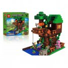 18009 The Jungle Tree House Minecraft (Lego 21125 copy) Building Blocks
