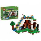 18028 The Waterfall Base Minecraft (Lego 21134 copy) Building Blocks