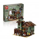 16050 Old Fishing Store Ideas Series (Lego 21310 copy) Building Blocks