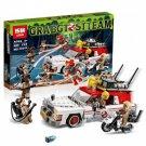 16032 Ecto-1 & 2 Ghostbusters Series (Lego 75828 copy) Building Blocks