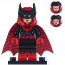 Minifigure Batwoman DC Comics Super Heroes Lego compatible Building Blocks Toys