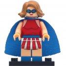 Minifigure Miss America DC Comics Super Heroes Lego compatible Building Blocks