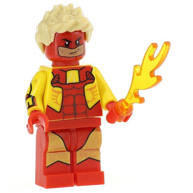 Minifigure Pyro X-Men Marvel Super Heroes Lego compatible Building Blocks Toys