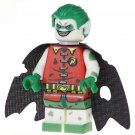 Minifigure Zombie Robin from Batman Movie DC Comics Super Heroes Lego compatible Building Blocks