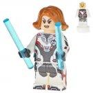 Minifigure Black Widow Avengers EndGame Marvel Super Heroes Lego compatible Building Blocks Toys