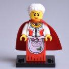 Minifigure Old Granny Santa Claus Christmas Lego compatible Building Blocks Toys
