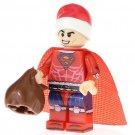 Minifigure Superman Christmas Santa Suit DC Comics Super Heroes Lego compatible Building Blocks Toys