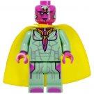 Minifigure Vision Avengers Infinity War Marvel Super Heroes Lego compatible Building Blocks Toys