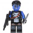 Minifigure Punisher Frankenstein Style Marvel Super Heroes Lego compatible Building Blocks Toys