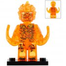 Minifigure Fire Elemental Spider-Man Far From Home Marvel Super Heroes Lego compatible Blocks