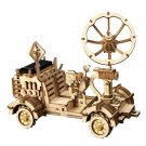 Moon Buggy Rumbler Rover Space Hunting Robotime ROKR LS401 3D Wooden Puzzle Building Blocks Toys