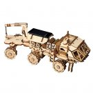 Hermes Discovery Rover Space Hunting Robotime ROKR LS504 3D Wooden Puzzle Building Blocks Toys