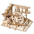 Cog Coaster Magic Crush Marble Run Robotime ROKR LG502 3D Wooden Puzzle Building Blocks Toys