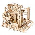 Lift Coaster Magic Crush Marble Run Robotime ROKR LG503 3D Wooden Puzzle Building Blocks Toys