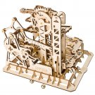 Lift Coaster Magic Crush Marble Run Robotime ROKR LG504 3D Wooden Puzzle Building Blocks Toys