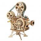 Vitascope Film Projector Mechanical Gears Robotime ROKR LK601 3D Wooden Puzzle Building Blocks Toys