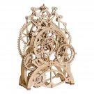 Pendulum Clock Mechanical Gears Robotime ROKR LK501 3D Wooden Puzzle Building Blocks Toys