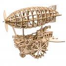 Air Vehicle Mechanical Gears Robotime ROKR LK702 3D Wooden Puzzle Building Blocks Toys
