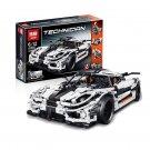 23002 The Koenigsegg One:1 Technic Series MOC-4789 Building Lego Blocks Toys