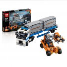 20035 Container Yard Technic Series 42062 Building Lego Blocks Toys