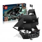 16006 The Black Pearl Pirates of the Caribbean 4184 Building Lego Blocks Toys