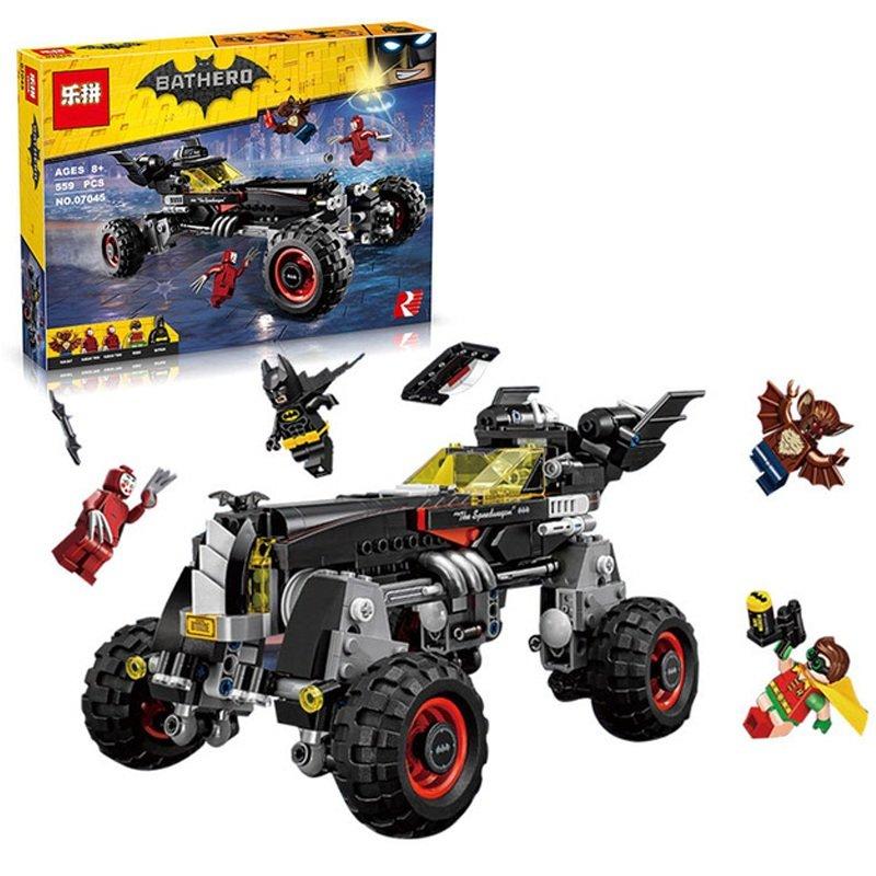 07045 The Batmobile Batman Series 70905 Building Lego Blocks Toys