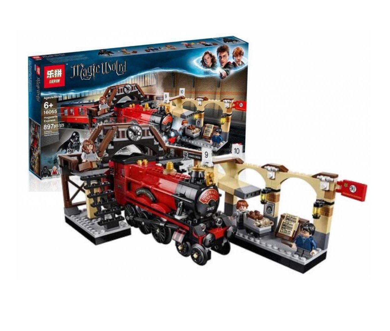 16055 Hogwarts Express Harry Potter 75955 Building Lego Blocks Toys