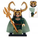 Minifigure Lady Loki Marvel Super Heroes Building Lego Blocks Toys
