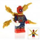 Minifigure Spider-man Avengers Infinity War Marvel Super Heroes Building Lego Blocks Toys