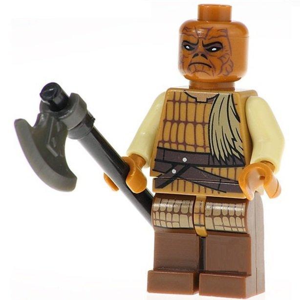 Minifigure Weequay Skiff Guard Star Wars Building Lego Blocks Toys