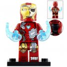 Minifigure Damaged Iron Man Avengers Infinity War Marvel Super Heroes Building Lego Blocks Toys