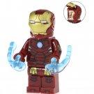Minifigure Iron Man Mark 3 Avengers Infinity War Marvel Super Heroes Building Lego Blocks Toys