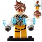 Minifigure Tracer Overwatch Building Lego Blocks Toys