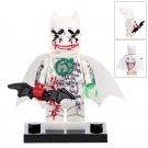 Minifigure Batman Vandalized Joker DC Comics Super Heroes Building Lego Blocks Toys