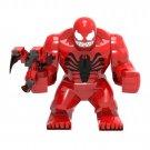 Big Minifigure Carnage Marvel Super Heroes Building Lego Blocks Toys