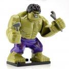 Big Minifigure Hulk with Tools Avengers Marvel Super Heroes Building Lego Blocks Toys