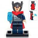 Minifigure Jane Foster Lady Thor Marvel Super Heroes Building Lego Blocks Toys