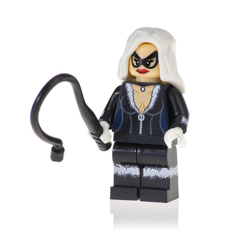 Minifigure Black Cat from Spider-Man Marvel Super Heroes Building Lego Blocks Toys