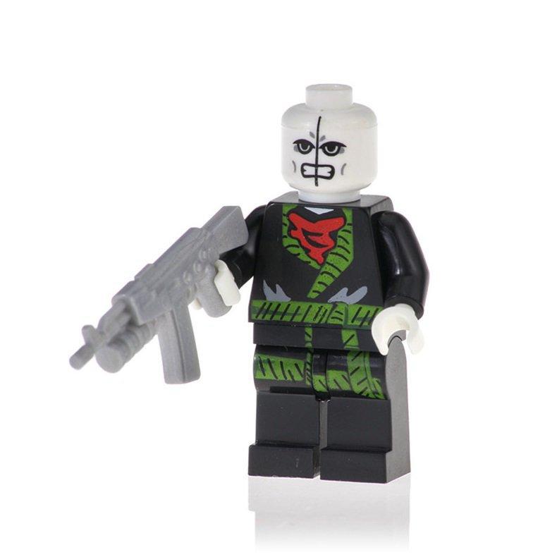 Minifigure Chameleon from Spider-Man Marvel Super Heroes Building Lego Blocks Toys