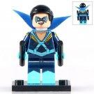 Minifigure Nightwing Dick Grayson DC Comics Super Heroes Building Lego Blocks Toys