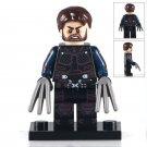 Minifigure Wolverine Logan Marvel Super Heroes Building Lego Blocks Toys