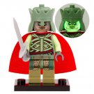 Minifigure King of the Dead from Lord of the Rings Hobbit Building Lego Blocks Toys
