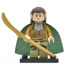 Minifigure Elrond Elf Lord of Rivendell Lord of the Rings Hobbit Building Lego Blocks Toys