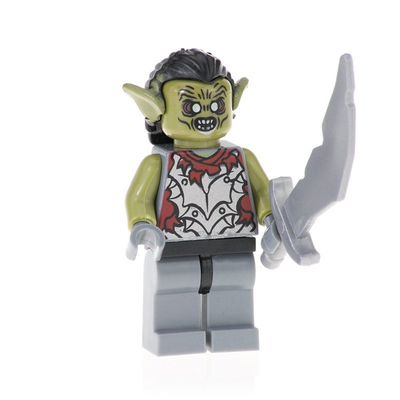 Minifigure Moria Orc from Hobbit Lord of the Rings Building Lego Blocks Toys
