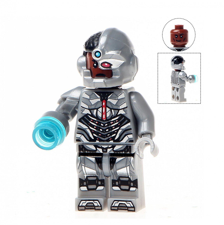 Minifigure Cyborg DC Comics Super Heroes Building Lego Blocks Toys