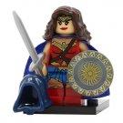 Minifigure Wonder Woman DC Comics Super Heroes Building Lego Blocks Toys