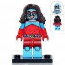 Minifigure Queen Atomia DC Comics Super Heroes Building Lego Blocks Toys